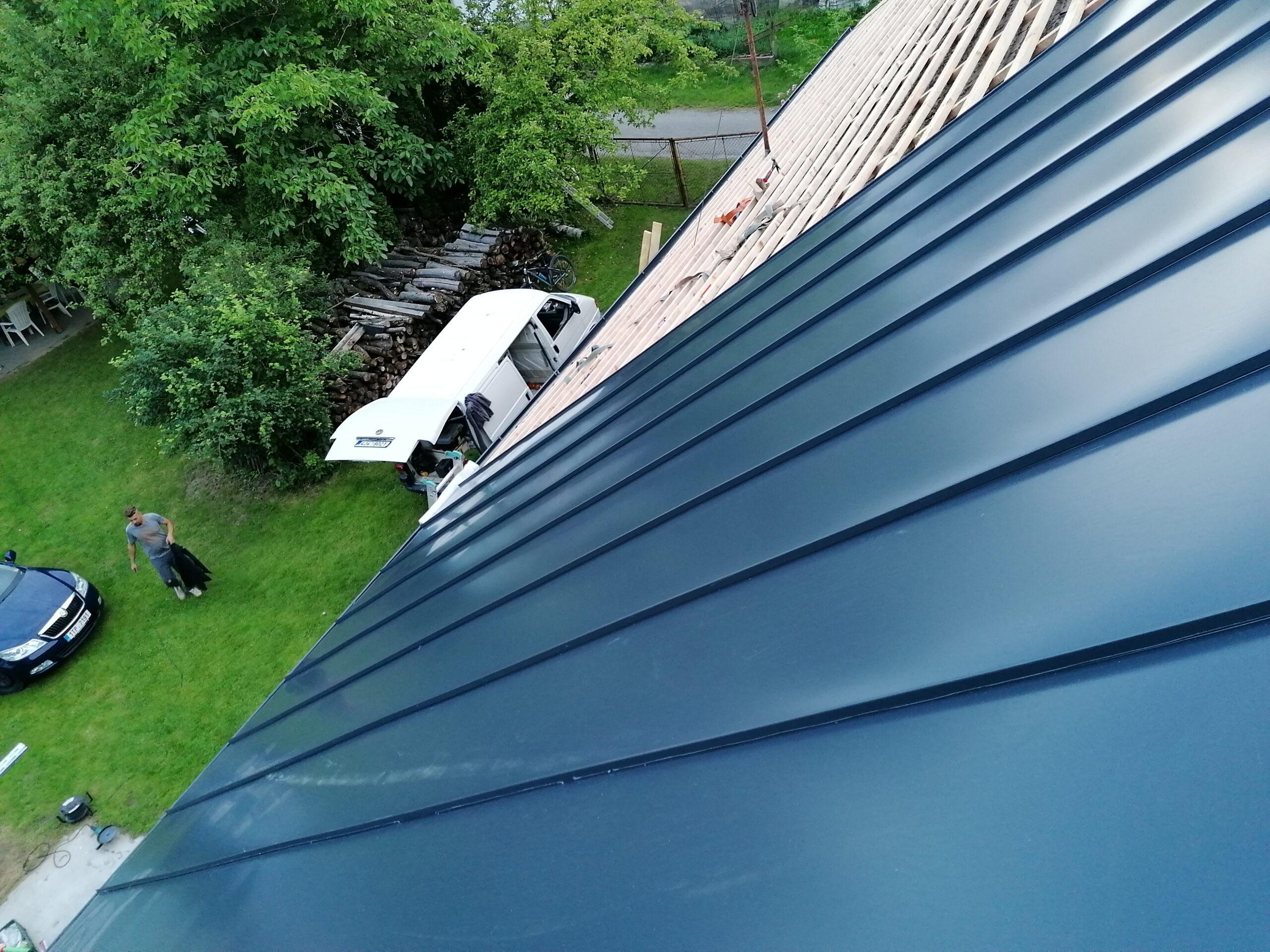 Rekonstrukce střechy – Povelice