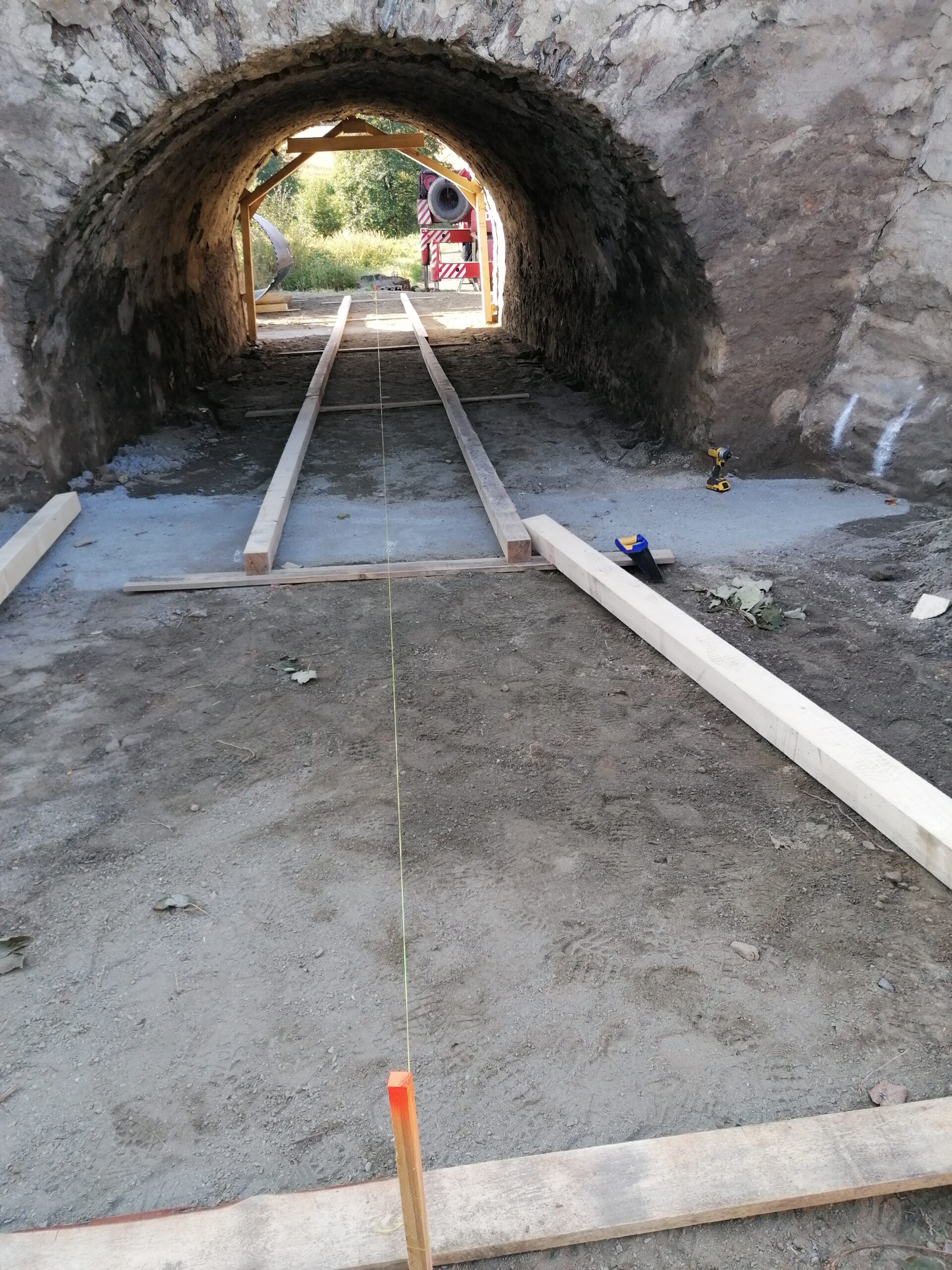 Montáž ocelové konstrukce I19 Lejčkov – Pacov
