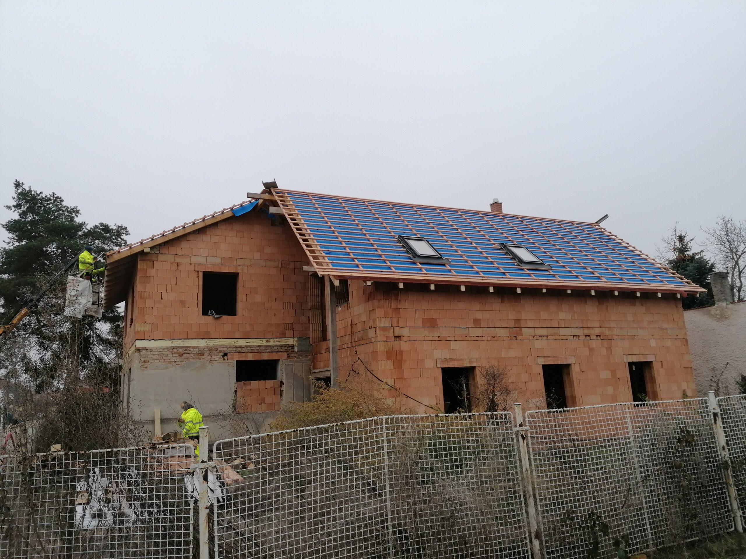 Rekonstrukce Střechy vč. hromosvodu – Praha Chrášťany
